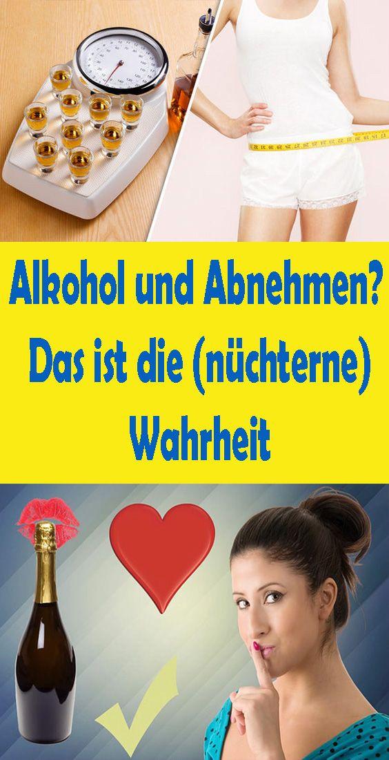 Die Wahrheit über Alkohol und Abnehmen - Alkohol, Abnehmen..