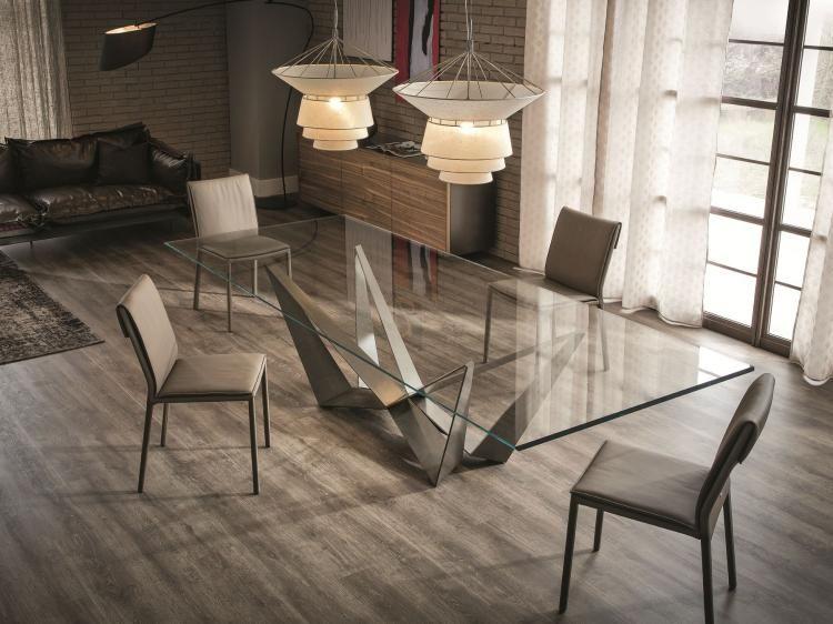 Table de salle à manger de design italien par Cattelan Italia - modele de salle a manger design