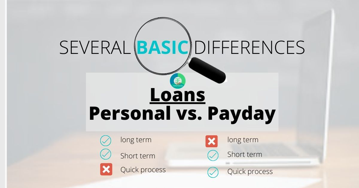 Personal Loan Vs Payday Loan In 2020 Personal Loans Payday Payday Loans