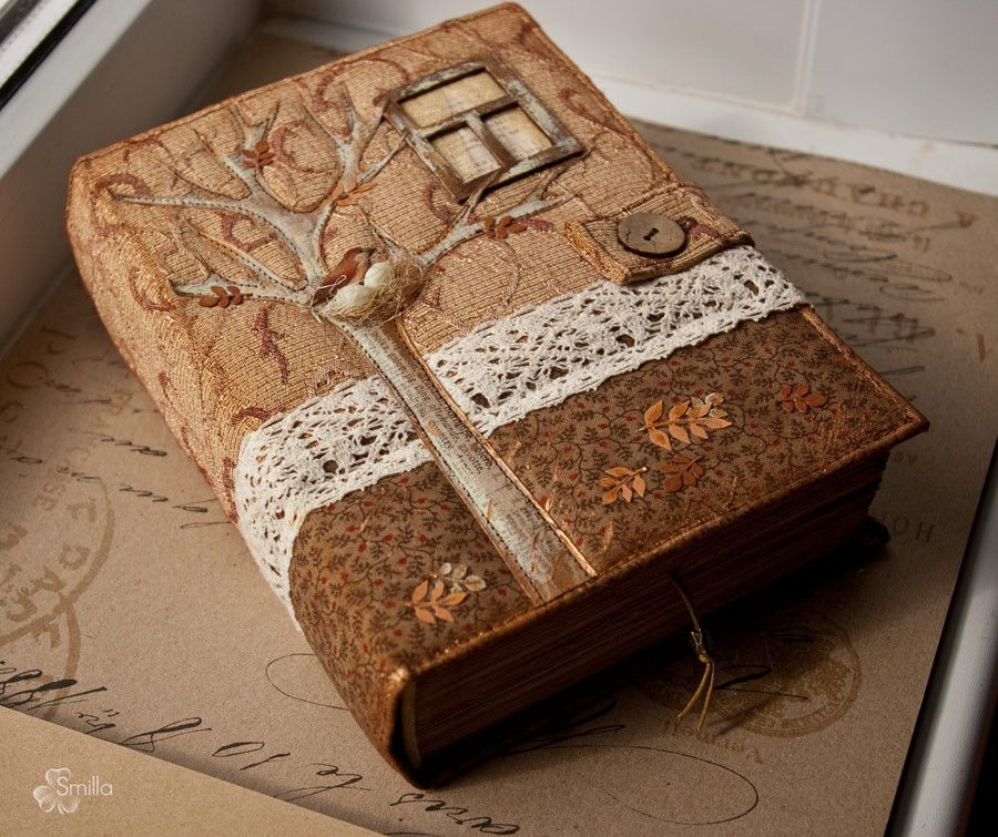 Wood Book Cover Material : Handmade book by smilla design cover ideas quot to