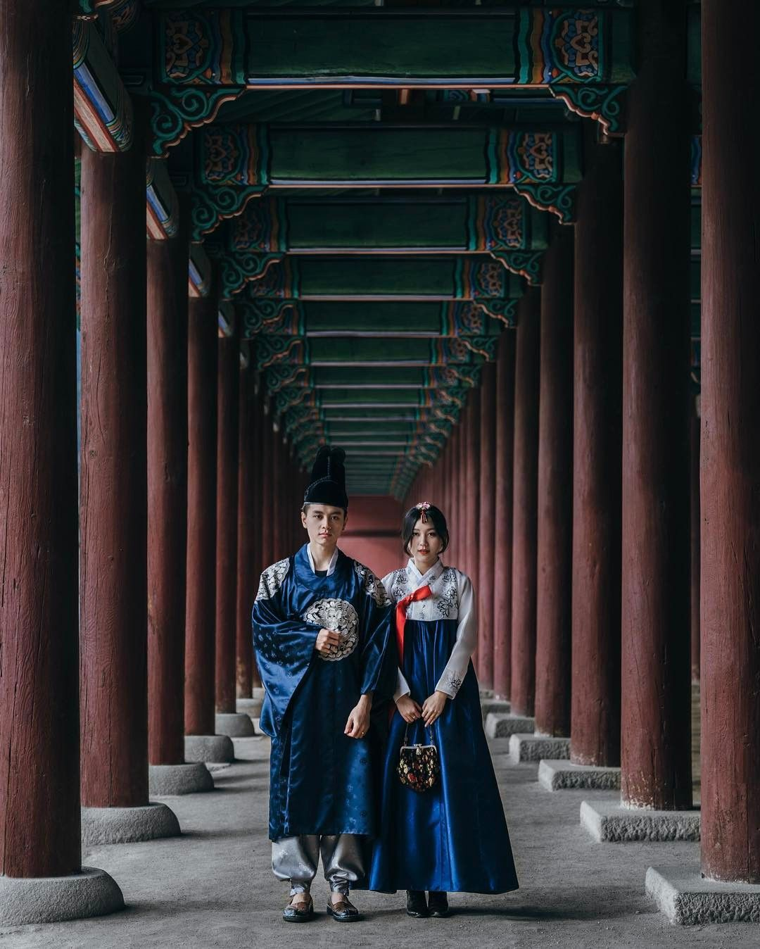 Gyeongbokgung Palace (@the.nexene) on Instagram | Grunge look ...