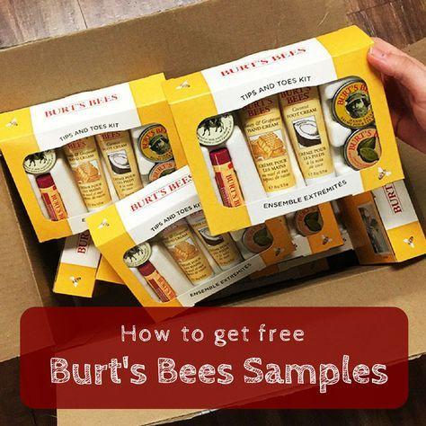 Burts bees samples