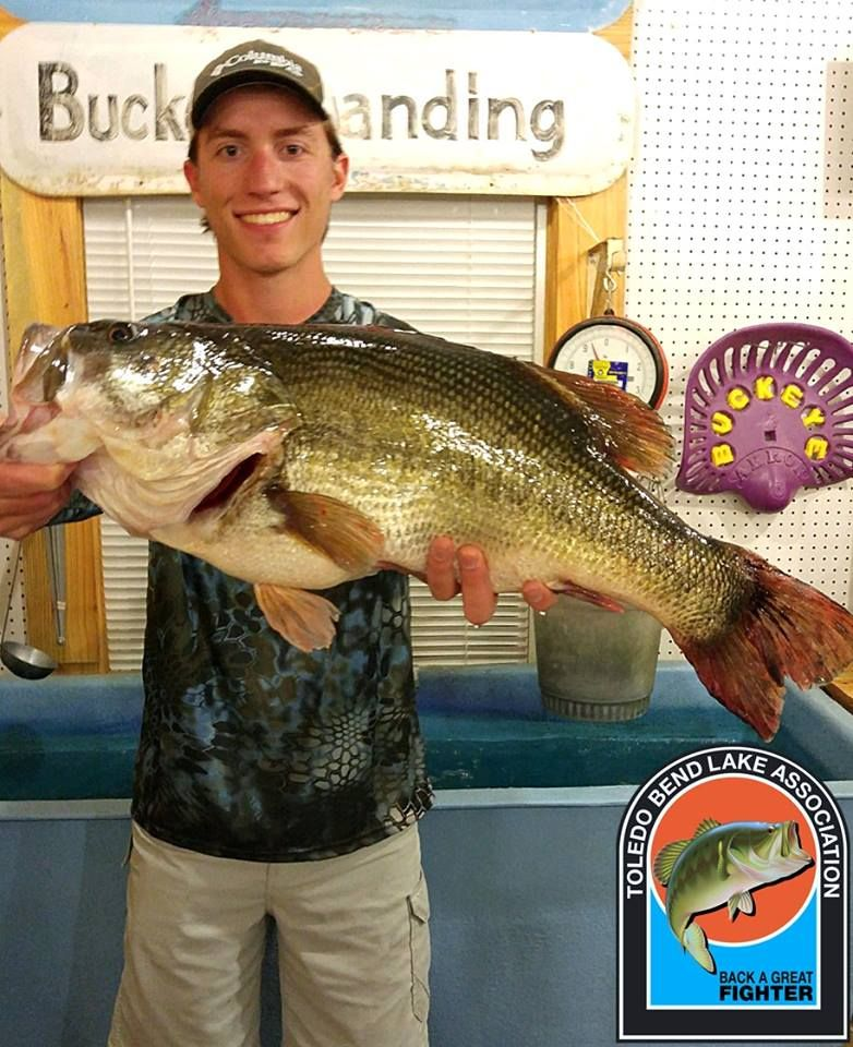 Jordan Babcock of Orange, TX caught this 11.12 lb previously caught fish on May 21, 2016 and weighed it in at Buckeye Landing Marina. Congratulations on your catch. This is fish number 003 for the May 2016 to May 2017 year