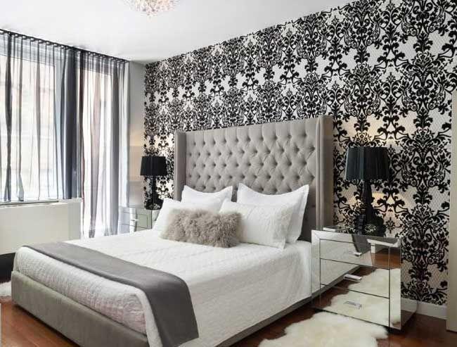 Ideen Tapeten Schlafzimmer Ideen Zeitgenössische Auf Auch - tapete für schlafzimmer
