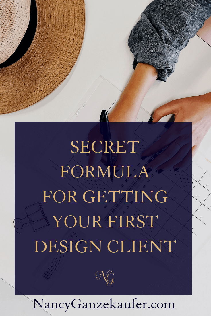 The Formula To Getting Your First Design Client Design Clients