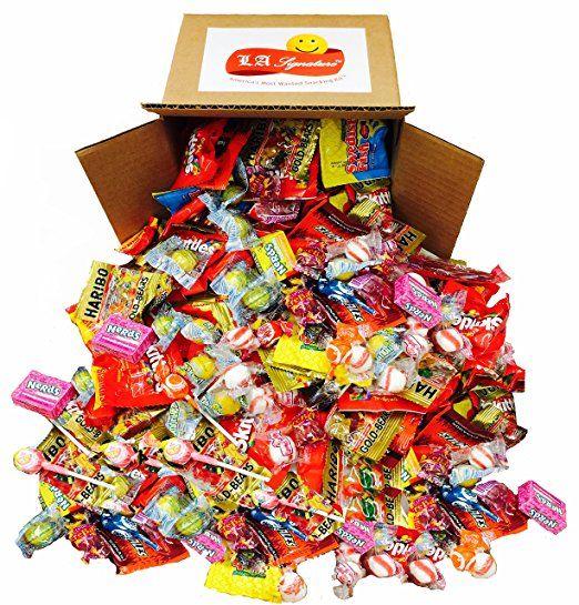 Assorted Classic Candy - Huge PARTY MIX Bulk bag! net weight 100 oz - bulk halloween decorations