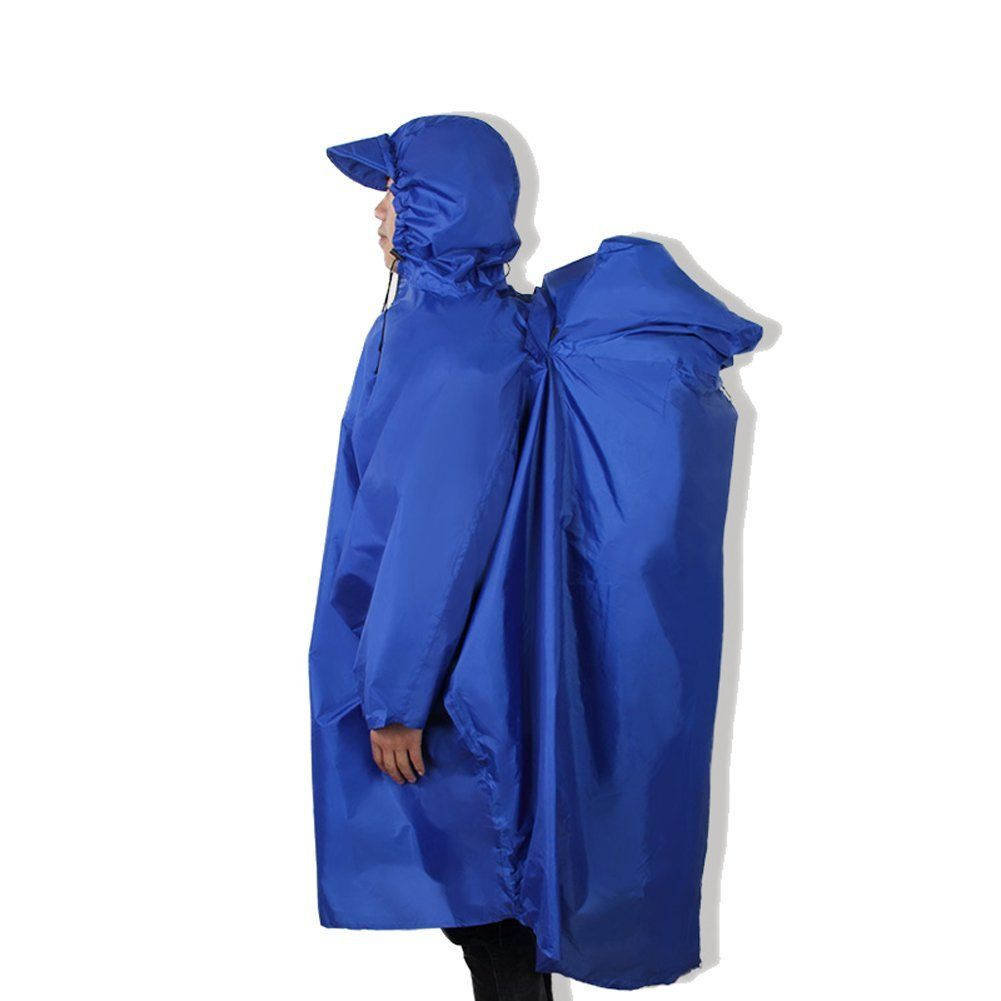 New Outdoor Camping Hiking Backpack Rain Cover One Piece Raincoat Poncho Cape Backpack Cover You Can Get More Details Here Bac Hiking Backpack Waterproof Poncho Hiking Gear