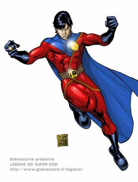 Good Morning, Mon-El! (art by Salvo Cuffari) | Legion of