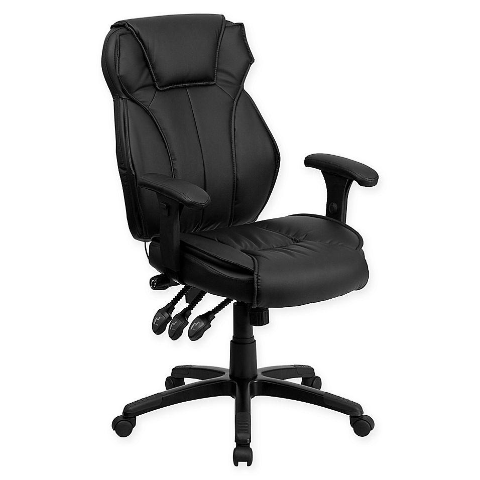 Flash furniture highback ergonomic executive office chair