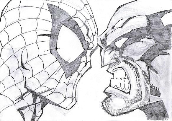 Black U0026 White Spiderman Sketches | Sketch | Pinterest | Spiderman Sketches And Spider-Man