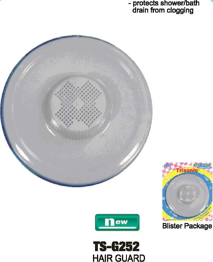 SHOWER BATH TUB HAIR GUARD DRAIN PROTECTOR PLASTIC SINK STRAINER ...