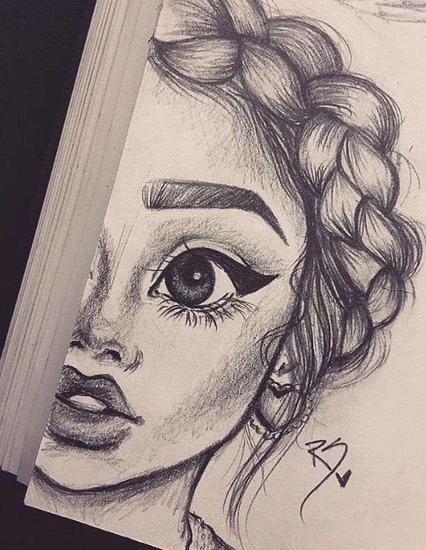 Amazing Girl Sketch Drawing Inspiration Art Pinterest Girl
