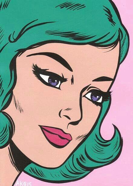 PopArtGirls   Art   Pinterest