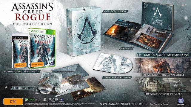 Assassin S Creed Rogue Collector S Edition Ps3 By Ubisoft Ps3 Nuovo
