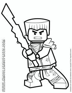 Free Colouring Page via freecoloringforkids lego