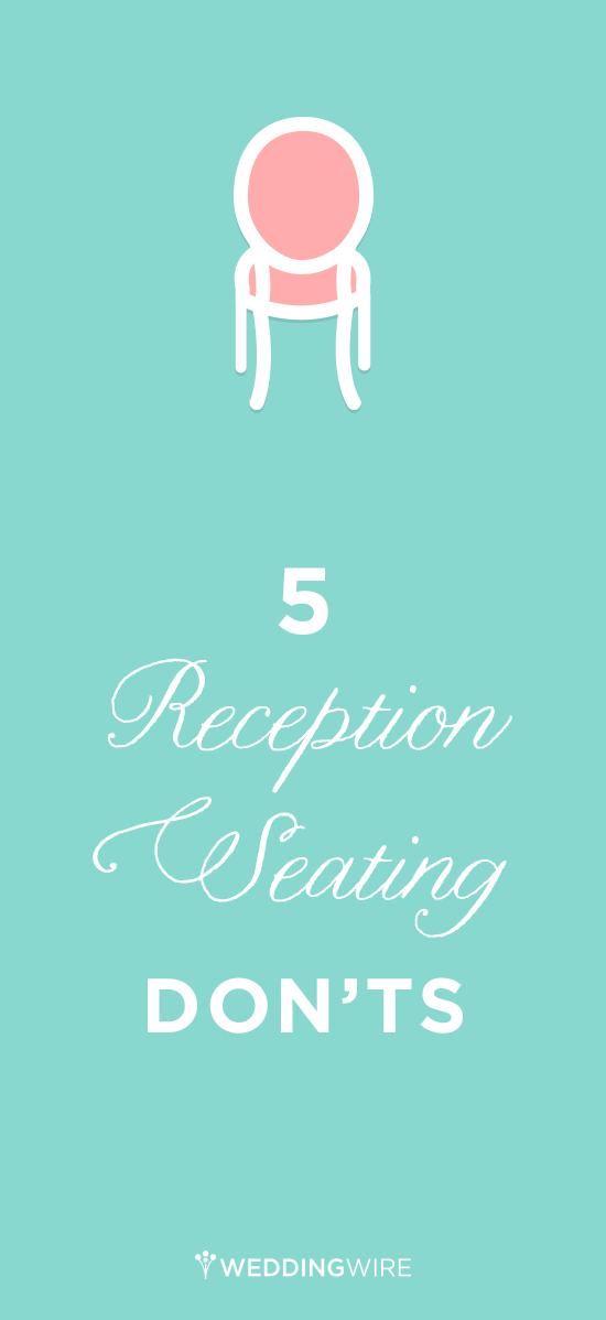 5 Wedding Reception Seating Don\'ts | Wedding Etiquette & Advice ...