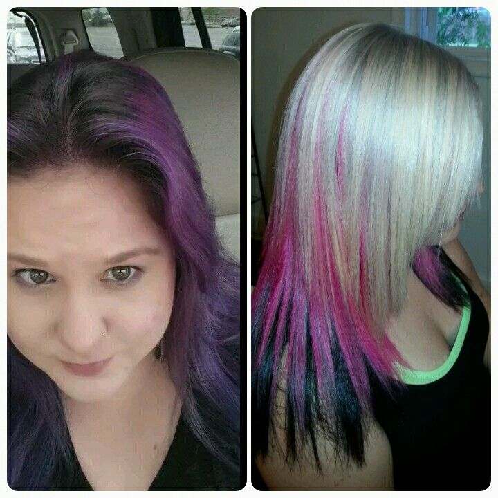 One of my clients hair I did.