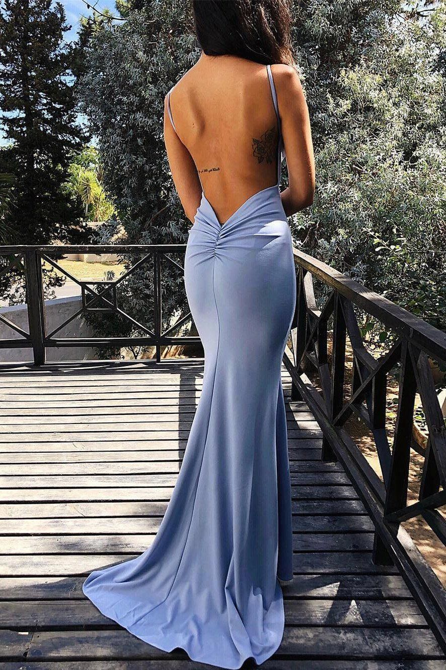 A Good Head Start On Putting Your Senior Prom Look Together Not Just Your Senior Prom Gown Will Prom Dresses Blue Backless Prom Dresses Blue Evening Dresses [ 1329 x 886 Pixel ]