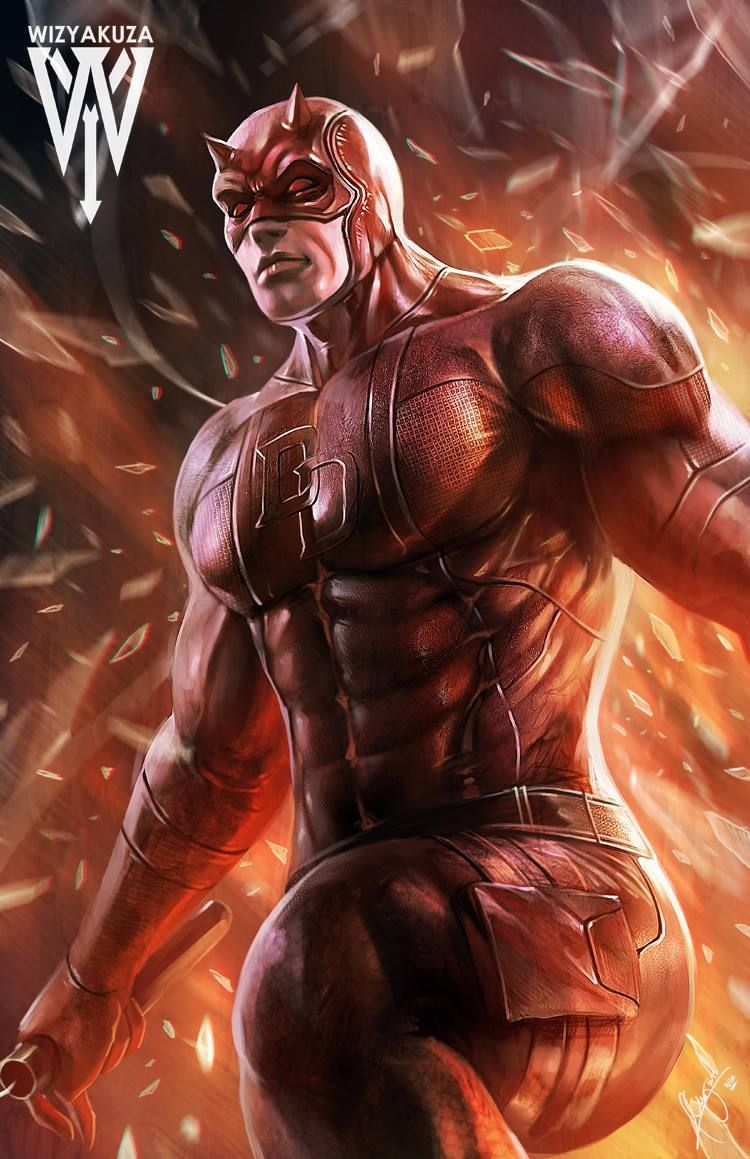 Daredevil Wallpaper By Wyzyakuza Marvel Pinterest Iron Man Circuit Superhros Comics Logostore Wizyakuza Ceasar Ian Muyuela Art Dc Heroes