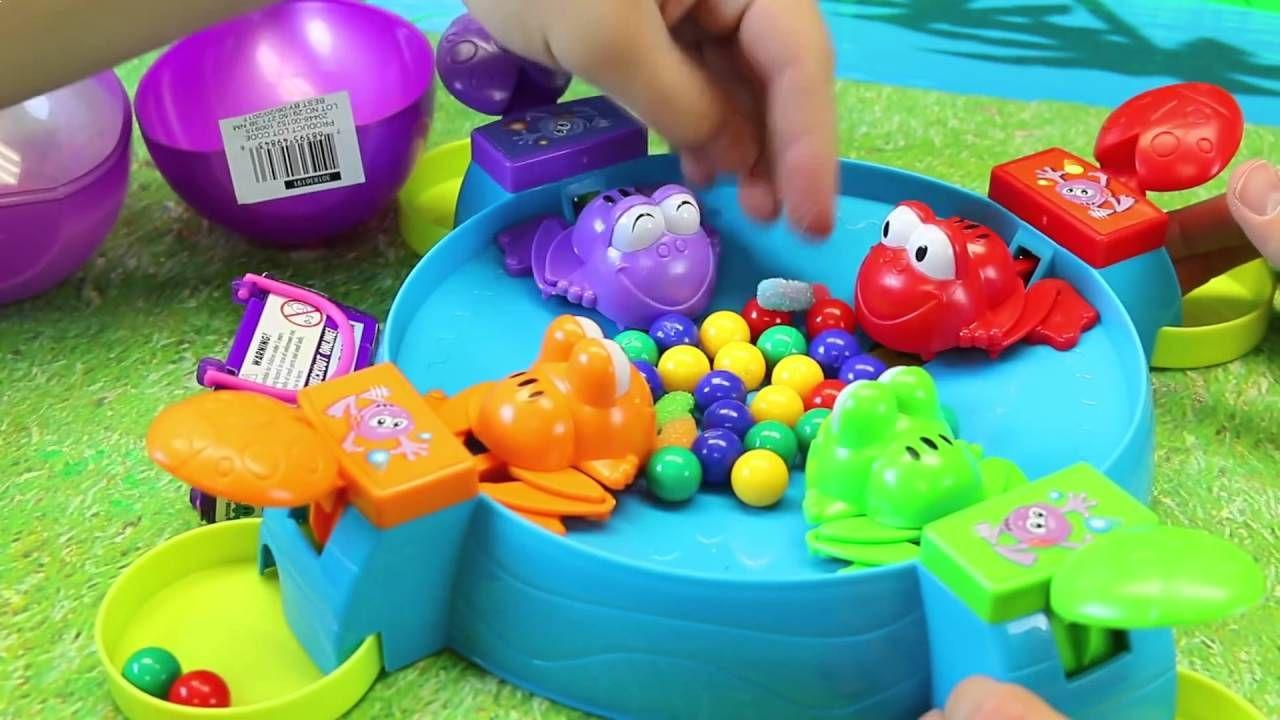 Feeding froggies game board game like hungry hippos family