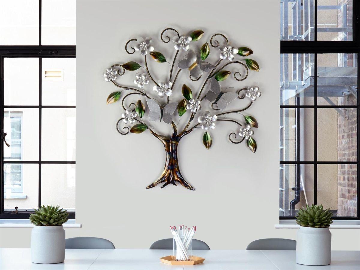 Formano Wandbild Aus Metall Baum No 4 Raumzutaten 89 00