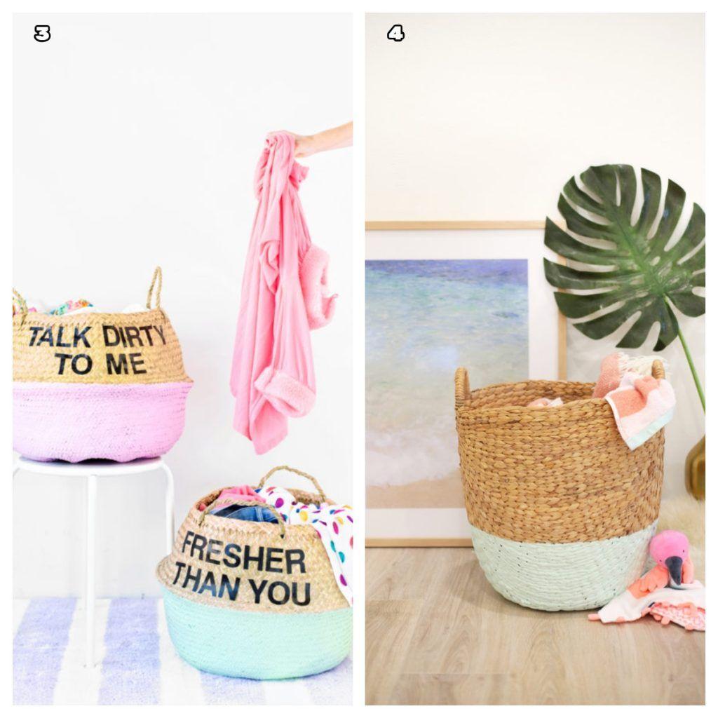8 Modern and Eye Catcher DIY Laundry Basket - Hamper ...