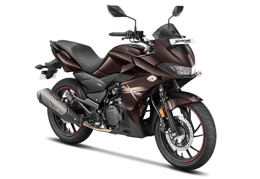 Hero Xtreme 200s Colors Red Black Brown Stylish Bike Hero
