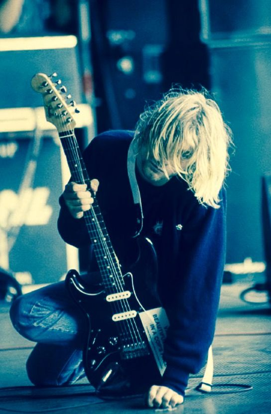 Kurt Cobain 💙 (с изображениями)   Курт кобейн, Нирвана ...