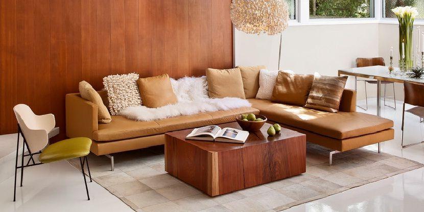 Image Result For Leather Mid Century Corner Sofa Corner Sofa Corner Sofa Mid Century Leather Corner Sofa