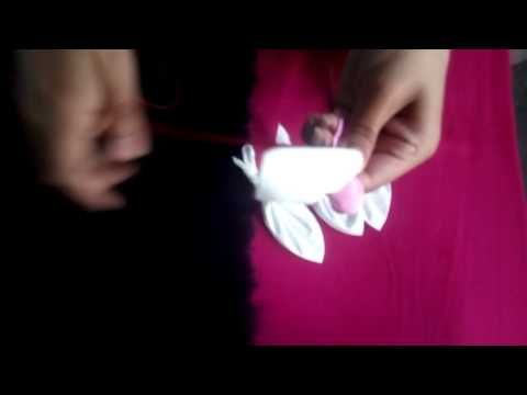 How to Make Giant Tissue Paper Flowers ||Hand craft
