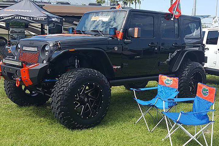 Prove You Re The No 1 Fan With This Florida Gators Jeep Florida