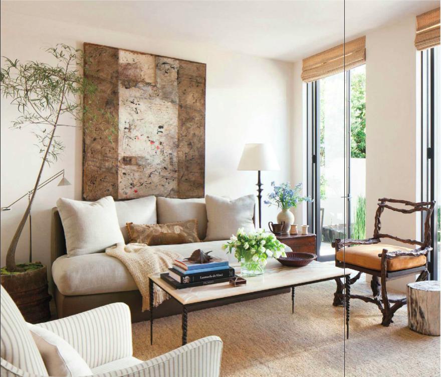 Weekend house by designers Richard Hallberg and Barbara Wiseley