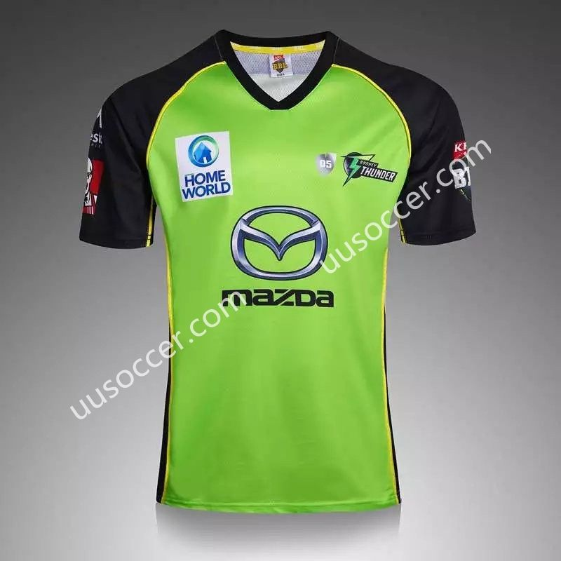 2016 17 Sydney Rangers Green Cricket Shirt Sports Tshirt Designs Rugby Jersey Rugby Shirt