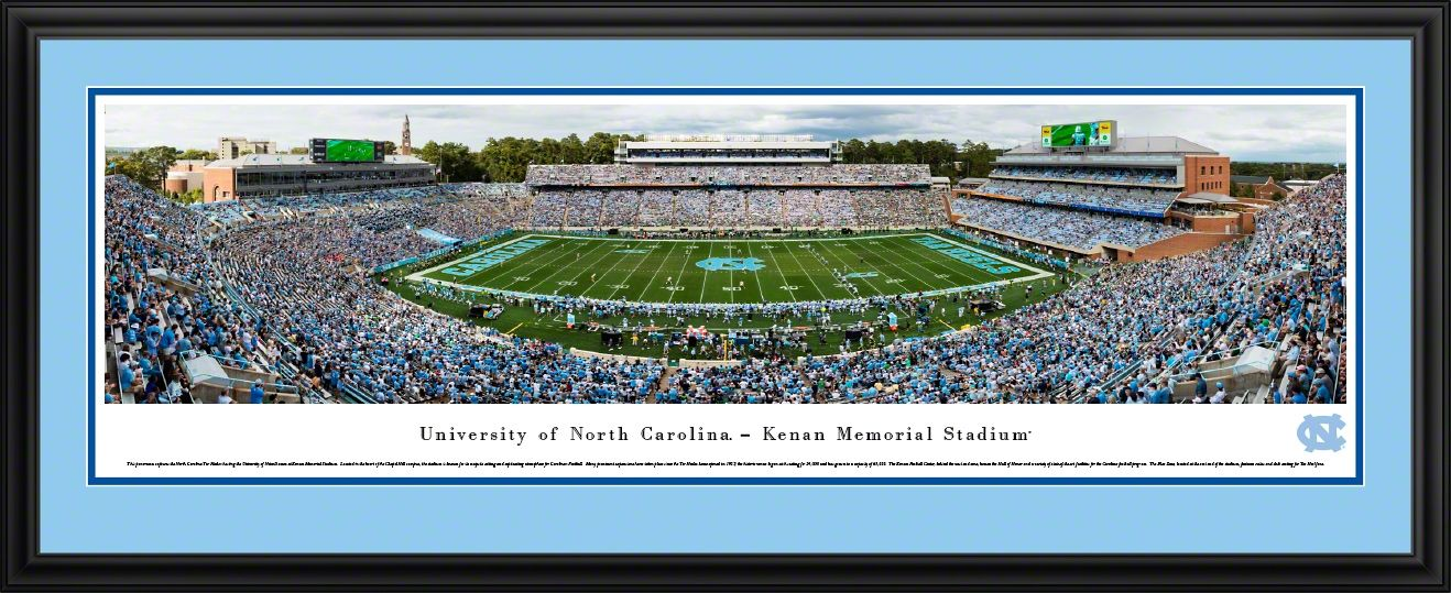 North Carolina Tar Heels Football Panoramic Picture