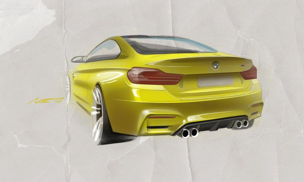 BMW Previews New M4 With Pebble Beach Concept Bmw