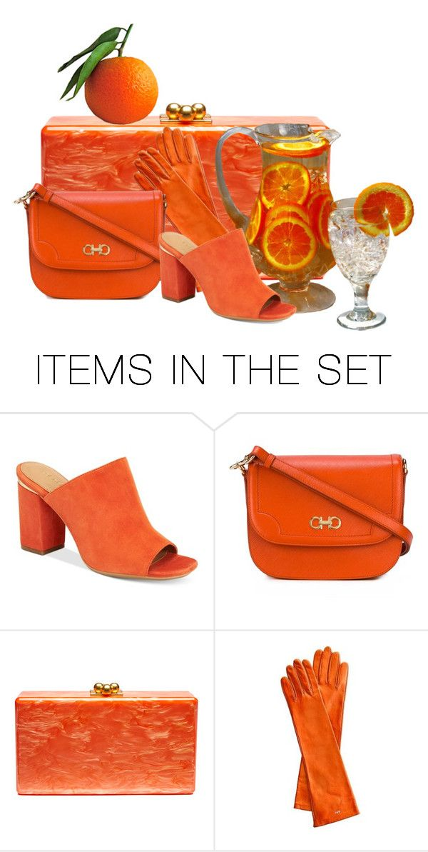 """""""orange"""" by overarch ❤ liked on Polyvore featuring art, polyvoreeditorial and artexpression"""