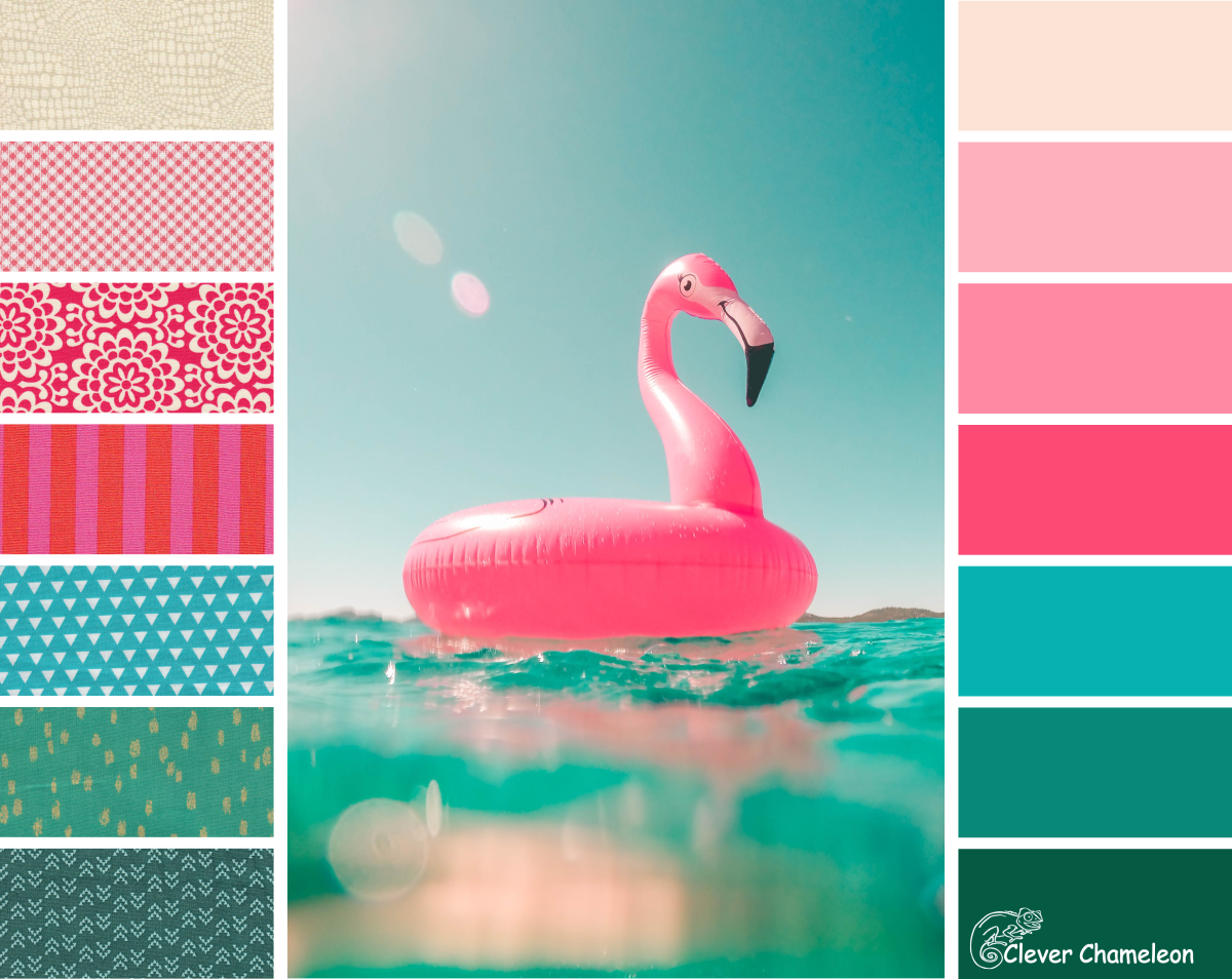 Colour Inspiration Tuesday Flamingoes In The Pool Summer Wallpaper Summer Backgrounds Pink Flamingos