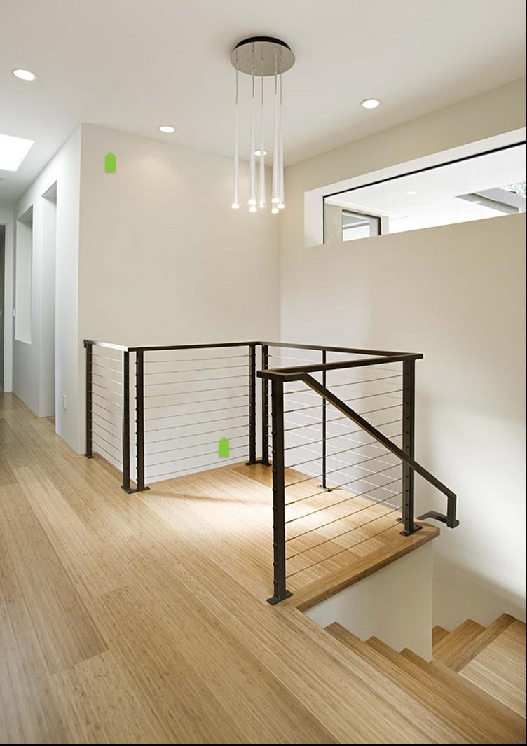 Best Black Modern Handrail Inredning Interiör Renovering 400 x 300