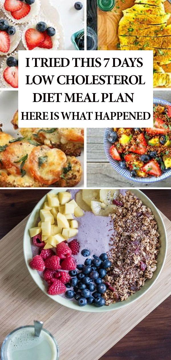 t low cholesterol diet