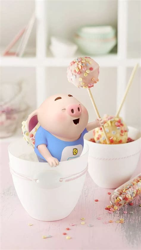Images By Mainguyn On Little Lovely Pig | Pig Wallpaper, Cute