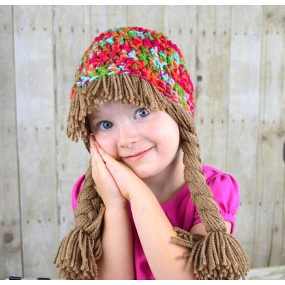 Beanie Braids - Multi colored | Products | Pinterest