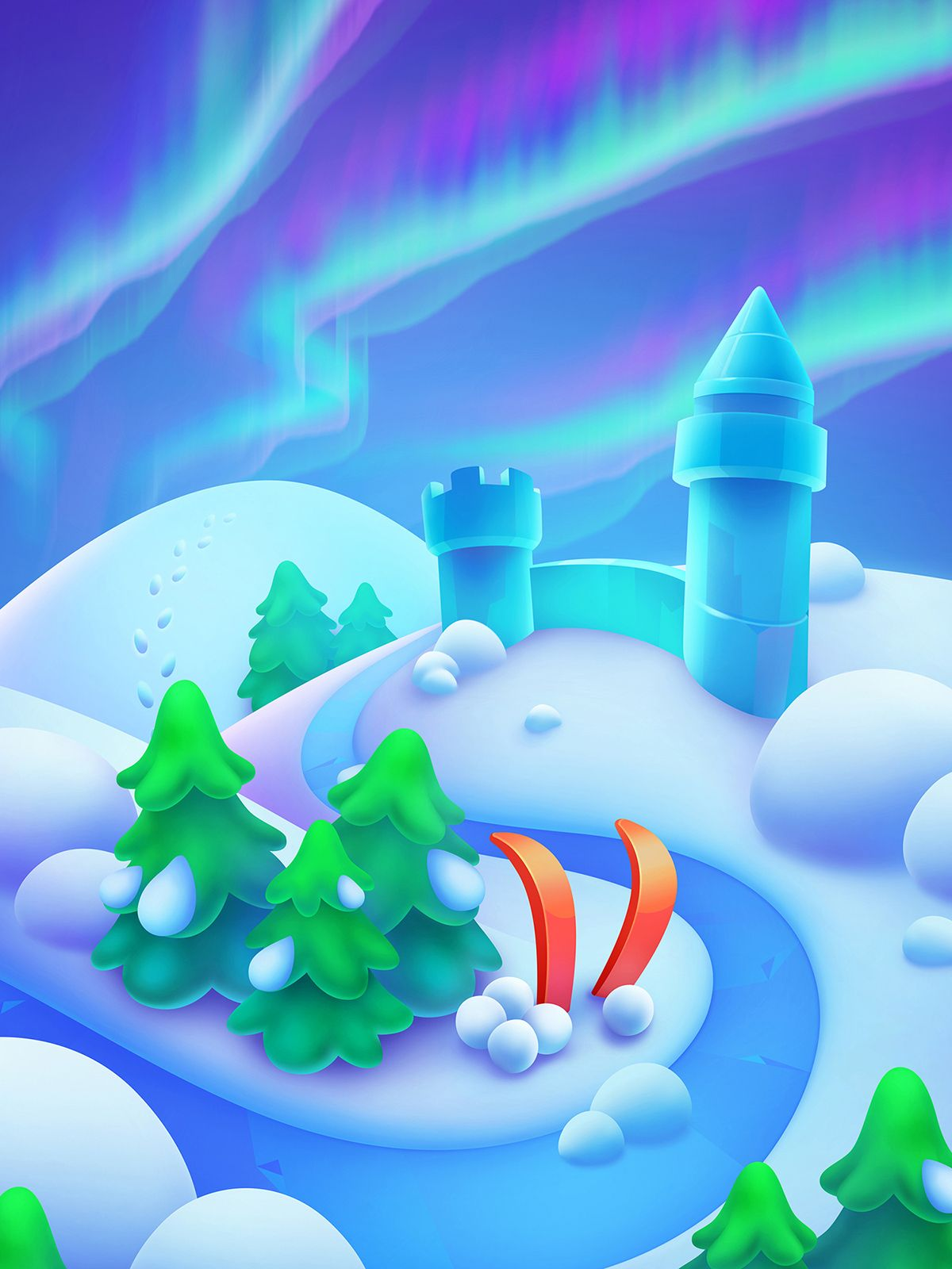 Lingoland on Behance in 2020 2d game background, 2d game