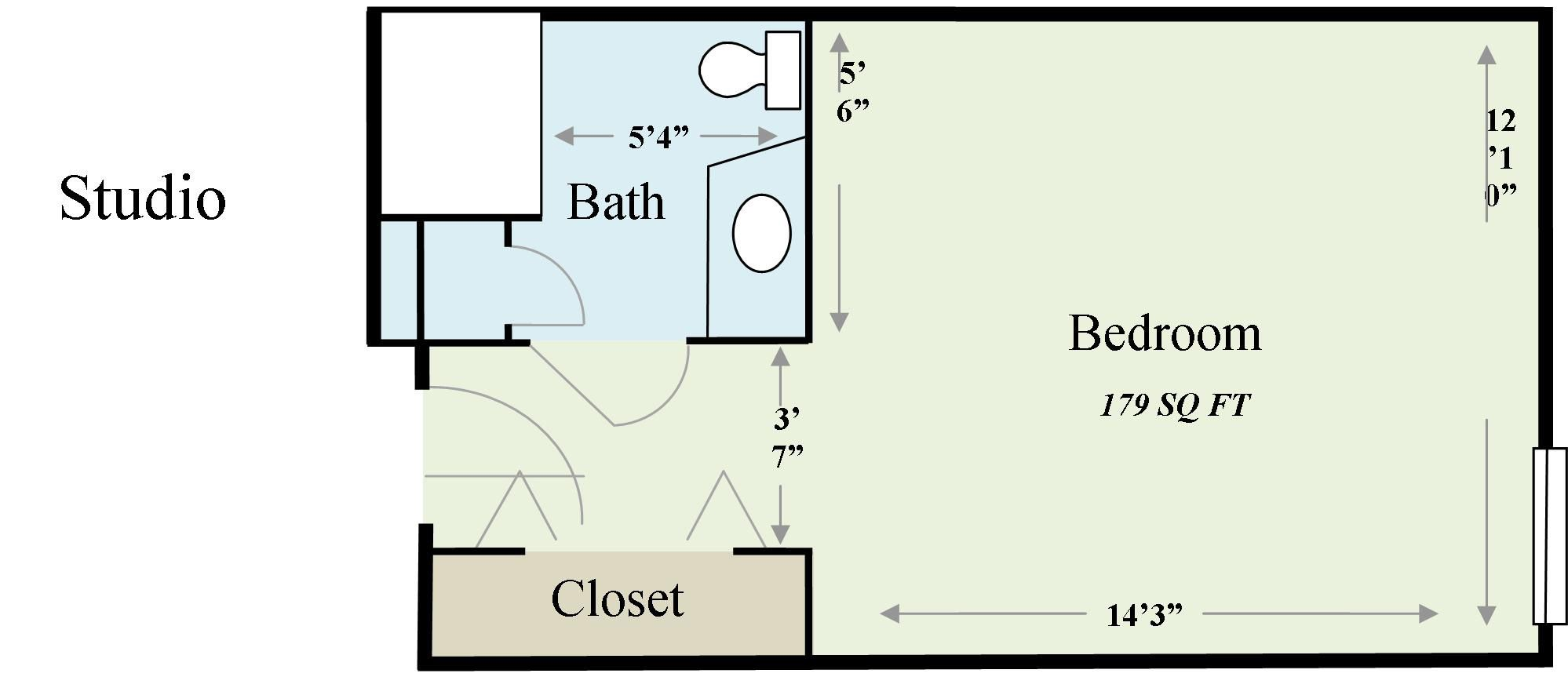 200 Sq Ft Tiny House Floor Plans Wesley Gardens Sample