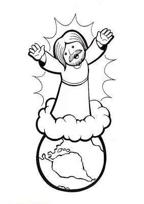 Revelation 19 22 Jesus Christ Will Return Returns Coloring Page