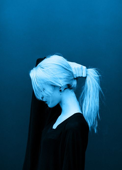 Blue Makes Me Happy People Photography Blue Aesthetic Character Aesthetic