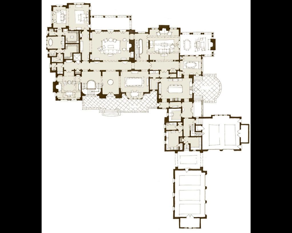 English Country Classic Drawings Country Floor Plans Architectural Floor Plans Architectural House Plans
