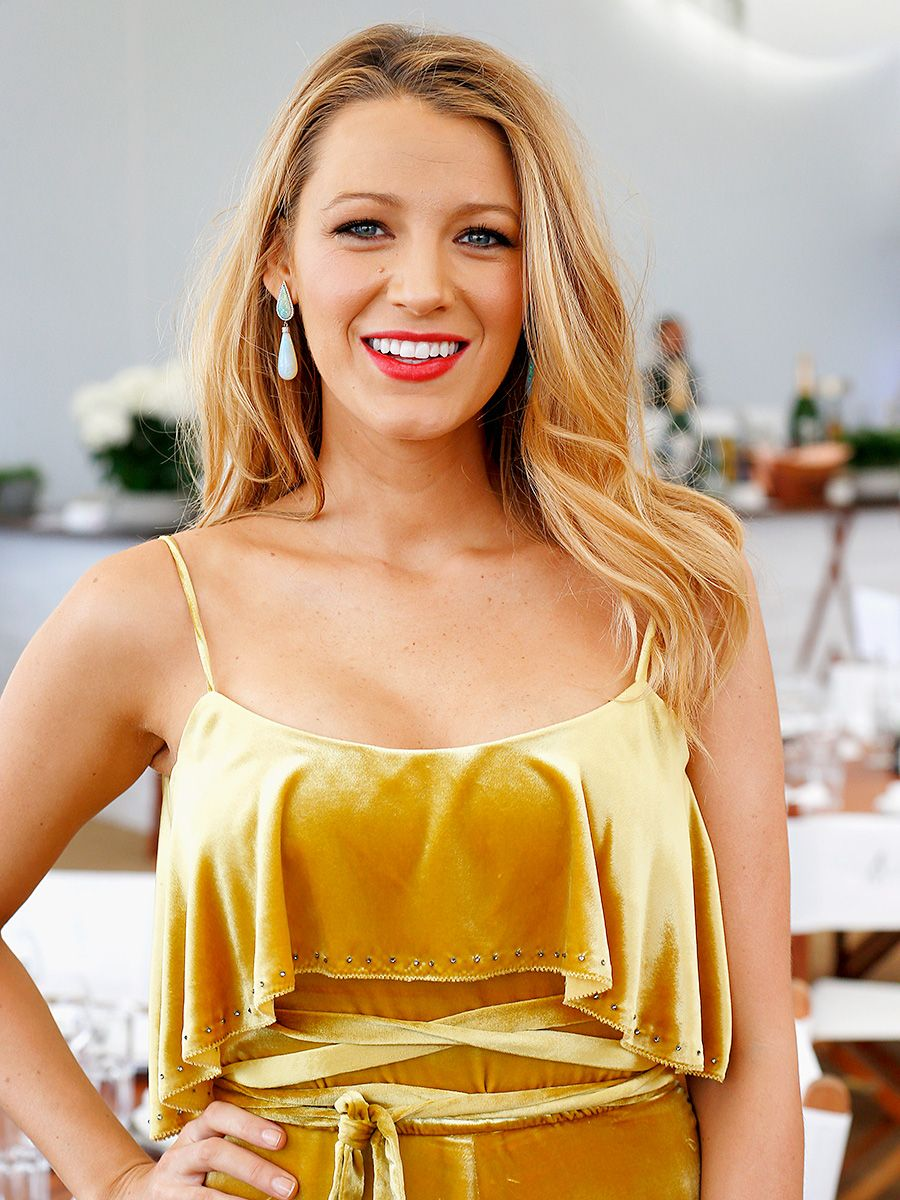 23 Wedding Hairstyles You'll Love Blake lively cannes