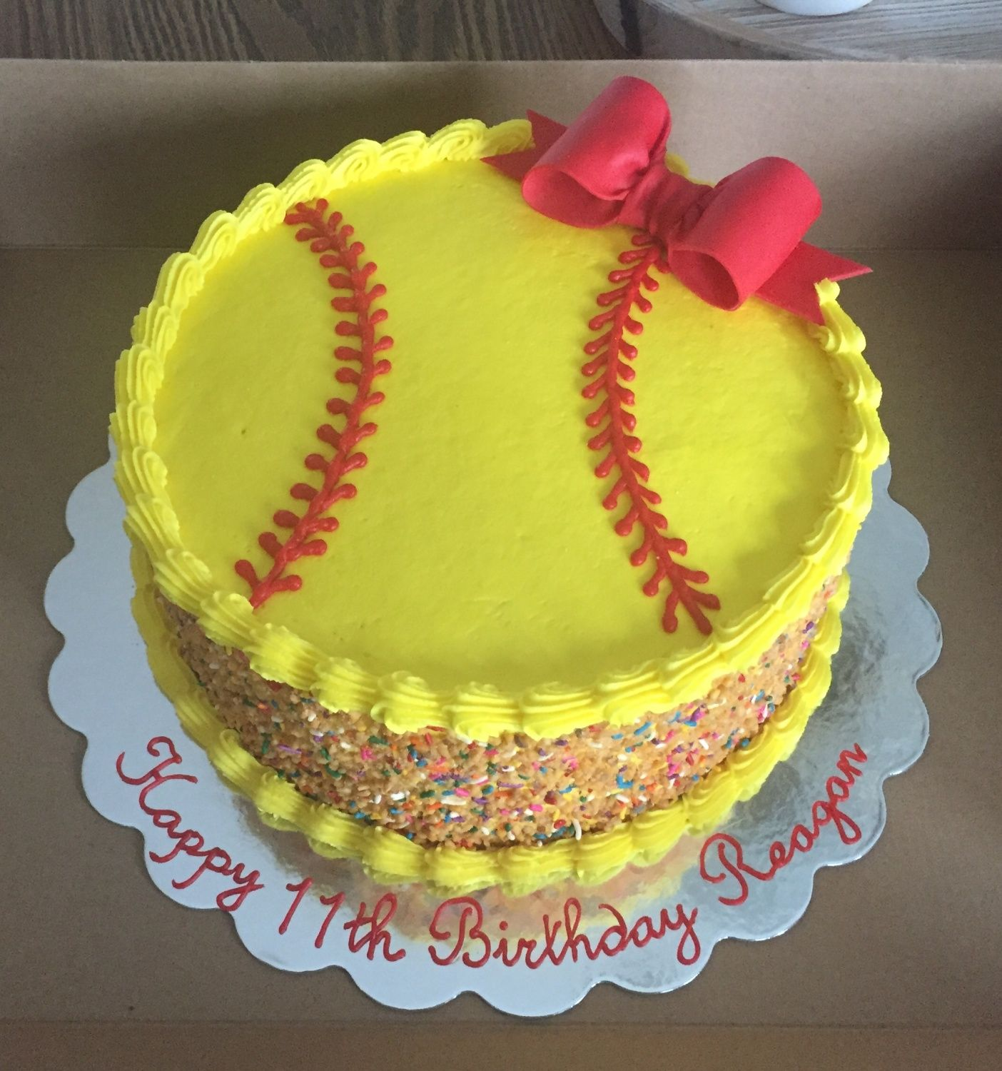 Outstanding Pin By Tabatha Meadows On Bellas 8Th In 2020 Softball Birthday Personalised Birthday Cards Paralily Jamesorg