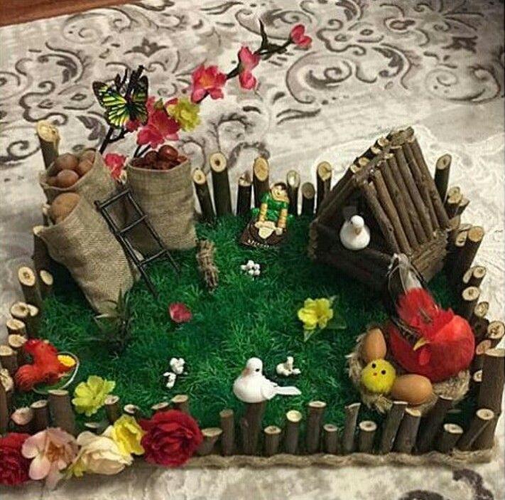 Novruz Bayram Novruz Xoncasi Diy Holiday Decor Bridal Card Diy Holiday