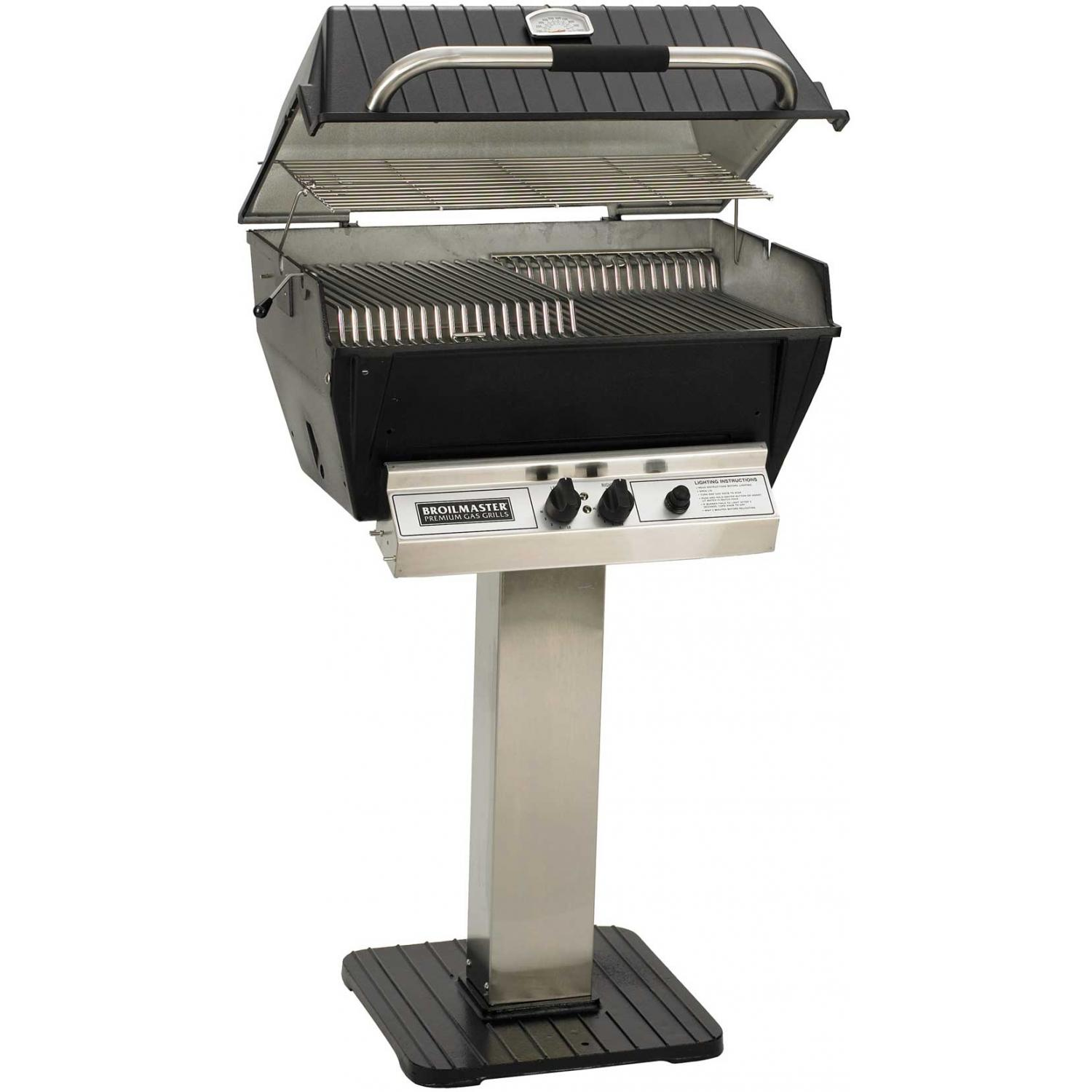 Broilmaster P3 Xfn Premium Natural Gas Grill On Stainless Steel Patio Post P3 Xfn Ss26 P Propane Gas Grill Grilling Infrared Grills